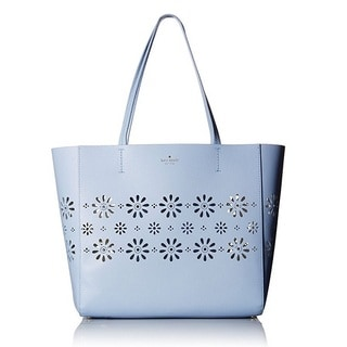 Kate Spade New York Faye Drive Hallie Sky Blue Tote Bag