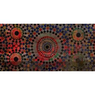 Handmade Parvez Taj - Chichaoua Print on Reclaimed Wood