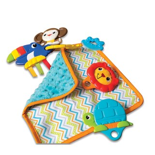 Summer Infant Multicolor Cotton Shake, Rattle, and Teether