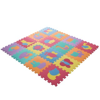 Hey! Play! Foam Floor Animal Puzzle Learning Mat|https://ak1.ostkcdn.com/images/products/13623399/P20293982.jpg?_ostk_perf_=percv&impolicy=medium