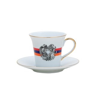Tea or Coffee Cup and Saucer 12-piece Set