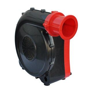 XPOWER BR-282A 2 HP Indoor Outdoor Inflatable Blower Fan for Bounce House Jumper Game and Display Structures