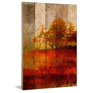 Handmade Parvez Taj - Kenora Print on Reclaimed Wood