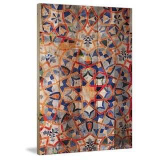Handmade Parvez Taj - Figuig Print on Reclaimed Wood
