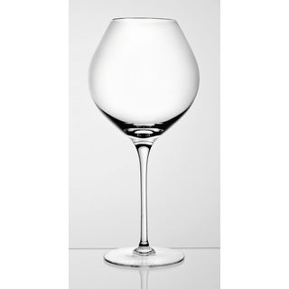 Majestic Gifts Quality Burgundy 28-ounce Glass (Set of 2)