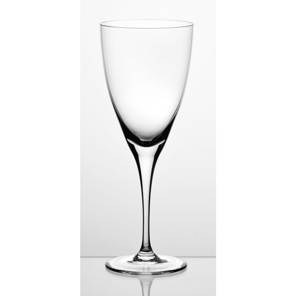 Majestic Gifts Clear Glass 11-ounce White Wine Glasses (Pack of 6)