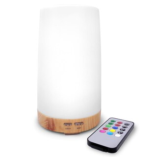 LED Concepts Essential Oil Diffuser and Mist Humidifier with Remote Control