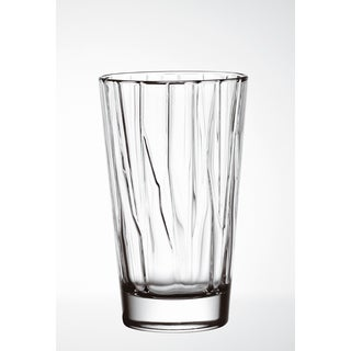 Majestic Gifts Clear Glass 13.5-ounce 6-piece Highball Tumbler Set
