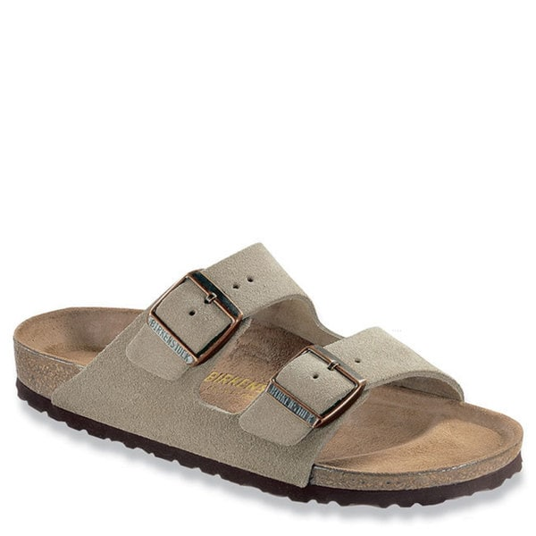 7b3648ae8403 Shop Birkenstock Women s Arizona Beige EVA Suede Sandal - Free Shipping  Today - Overstock - 13623689
