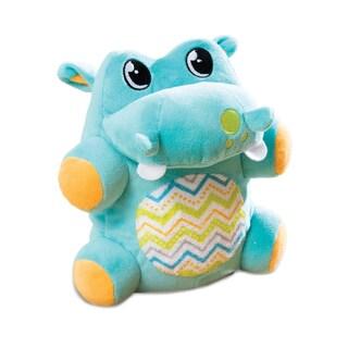 Summer Infant Jiggypotamus Blue Polyester Plush Toy