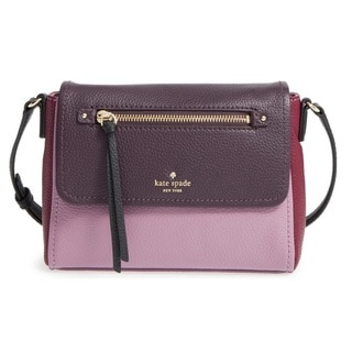 Kate Spade New York Cobble Hill Merlot/Mahogany/Rum Raisin Mini Handbag