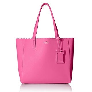 Kate Spade Cape Drive Hallie Tulip Pink/Bright Papaya Tote Bag