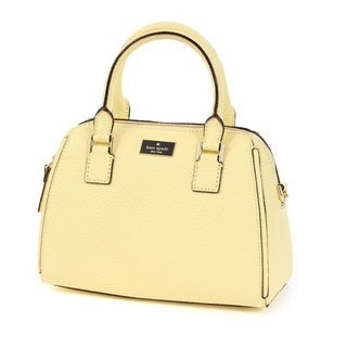 Kate Spade New York Pippa Small Lemon Souffle Satchel Handbag