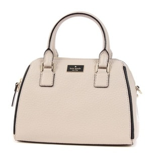 Kate Spade New York Pippa Small Crisp Linen Satchel Handbag