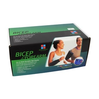 Hot and Cold Body Contouring Gel Pack for Forearm and Bicep