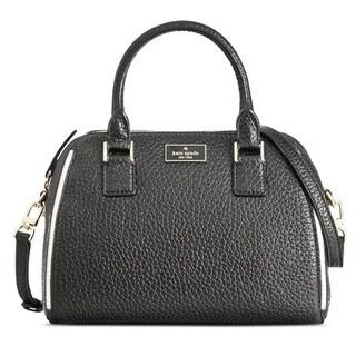 Kate Spade New York Pippa Small Black Satchel Handbag
