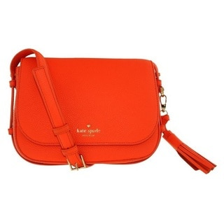 Kate Spade Orchard Street Penelope Bright Papaya Crossbody Handbag