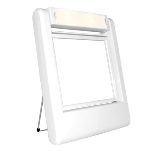 Rucci Dual-sided 5x/1x Magnification Lighted Stand Mirror