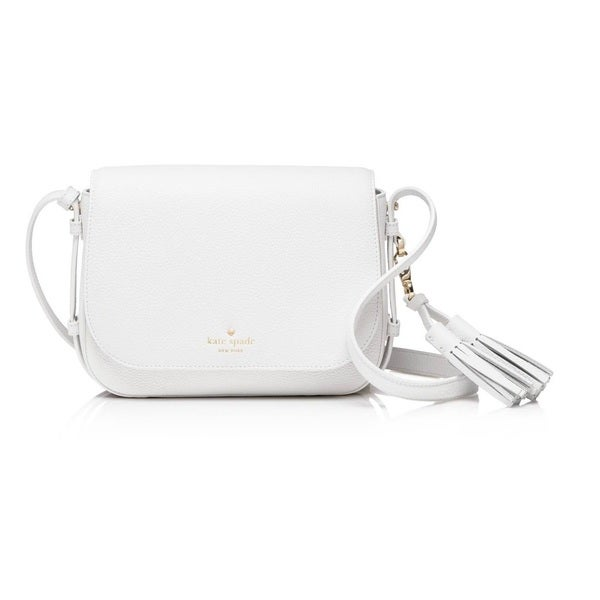 21eb0d5bc Shop Kate Spade Orchard Street Penelope Bright White Crossbody ...