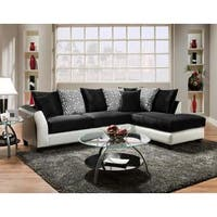 Soft Trendz Dean Two Tone Sectional