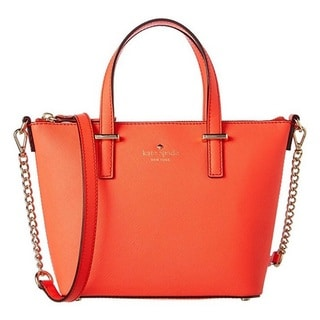 Kate Spade Cedar Street Harmony Bright Papaya Crossbody Handbag