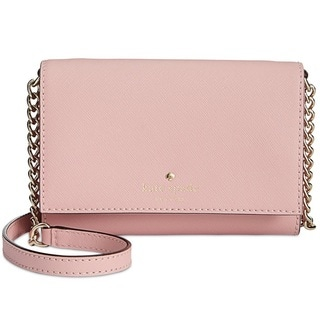 Kate Spade New York Cedar Street Cami Pink Bonnet Crossbody Handbag
