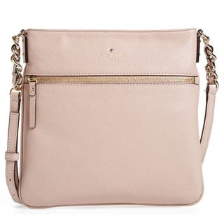 Kate Spade Cobble Hill Ellen Pressed Powder/Flo Geranium Crossbody Handbag