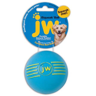 Petmate JW Isqueak Ball Dog Toy