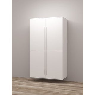 TidySquares Classic White Wood Locker Storage Design 2