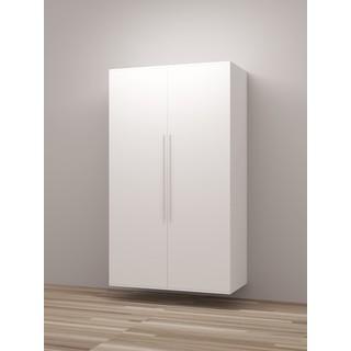 TidySquares Classic White Wood Locker Storage Design 1