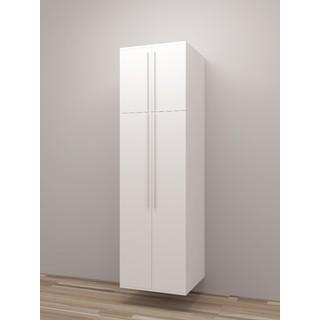 TidySquares Classic White Wood Locker Storage Design 2