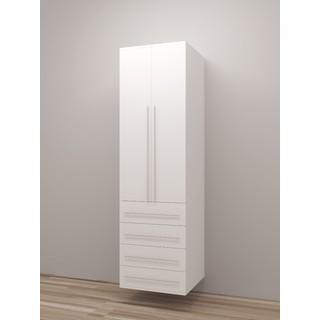 TidySquares Classic White Wood Locker Storage Design 5