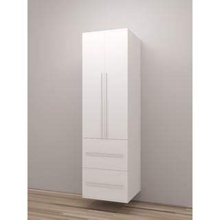 TidySquares Classic White Wood Locker Storage Design 6