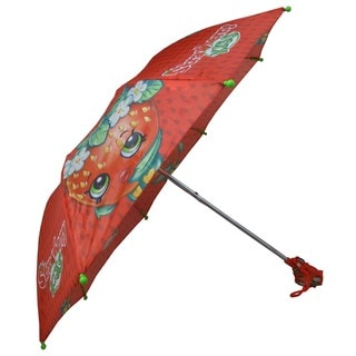 Shopkins Strawberry Kiss Red Compact Umbrella