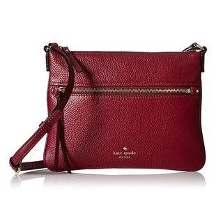 Kate Spade New York Cobble Hill Gabriele Merlot Crossbody Handbag