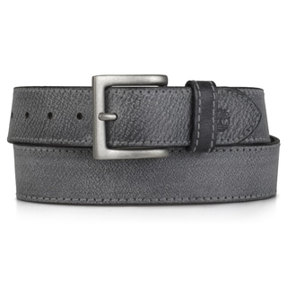 Timberland Men's Genune Leather Topstitched Belt