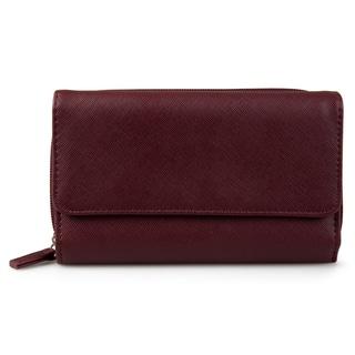 Mundi Women's Faux Leather Big Fat Clutch Wallet|https://ak1.ostkcdn.com/images/products/13627626/P20296885.jpg?impolicy=medium