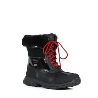 Ugg Men's Butte Boots in Black Patent