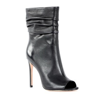 Halston Heritage Sandra Leather Bootie