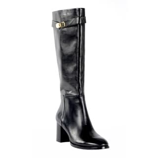 Halston Heritage Women's Ava Black Leather Boot