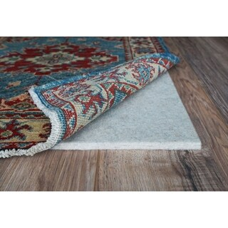 "Eco Plush 3/8"" Cushioned Felt Rug Pad, Safe for All Floors, by Rug Pad USA, 7ft. 6in. x 9ft. 6in."