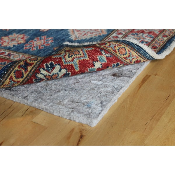Eco Plush 3/8-inch Cushioned Felt Rug Pad, Safe for All Floors, by Rug Pad USA, 5x8