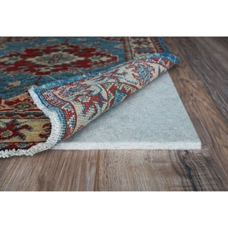 "Eco Plush 3/8"" Cushioned Felt Rug Pad, Safe for All Floors, by Rug Pad USA, 4ft. 9in. x 7ft. 9in."