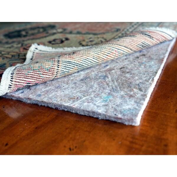JustPlush 1/4-inch Thick Cushioned Felt Rug Pad (4' x 4')