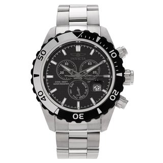 Invicta Men's Pro Diver 12860 Stainless Steel Chronograph Bracelet Watch