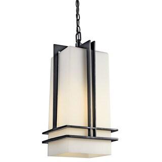 Kichler Lighting Tremillo Collection 1-light Black Fluorescent Outdoor Pendant