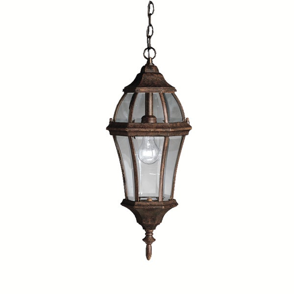 Kichler Lighting Townhouse Collection 1-light Tannery Bronze Outdoor Post Mount