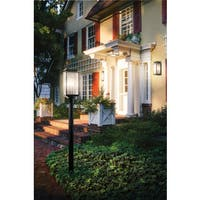 Kichler Lighting Manningham Collection 3-light Olde Bronze Outdoor Post Mount