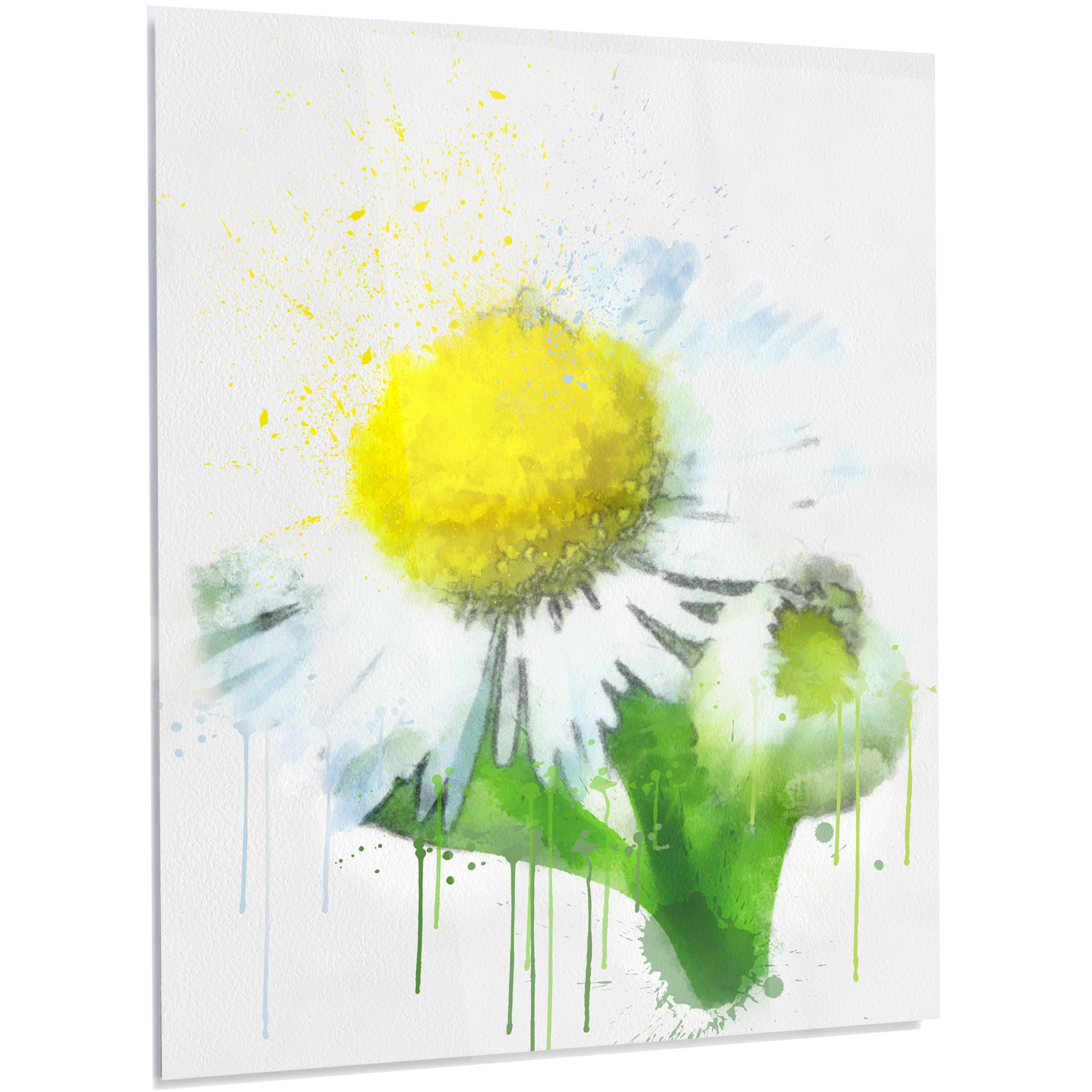Awesome Metal Wall Flower Art Gallery - The Wall Art Decorations ...