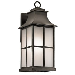 Kichler Lighting Pallerton Way Collection 1-light Olde Bronze Outdoor Wall Lantern